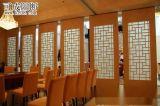 可成85款北京酒店宴会厅隔板自动固定密封隔音吊挂折叠活动隔断屏风