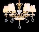 琪美燈飾8119客廳吊燈歐式水晶現代簡約臥室led大氣家用餐廳創意簡歐燈具燈飾