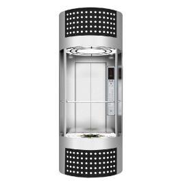 德奥牌1000KG观光电梯10层全不锈钢设备价格115000元