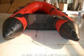 加厚橡皮艇防汛冲锋舟充气救援艇