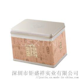 手工鸡蛋卷铁罐 咸蛋卷饼干盒 原味点心马口铁盒