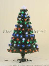 立式PVC光纤装饰树120CM