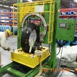 全自动钢丝缠绕机钢带缠绕机厂家直销