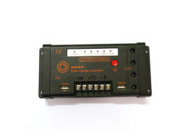 MPPT锂电池太阳能控制器11.1V10A控制器