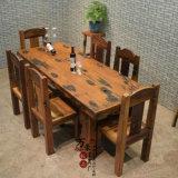 老船木餐桌书桌办公室写字桌古船木家具客厅餐台