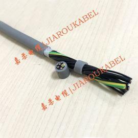 高柔性耐弯曲拖链电缆 上海拖链电缆 耐油拖链电缆