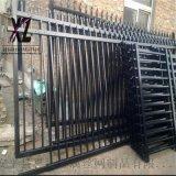 鍍鋅管圍牆護欄、雙橫杆圍牆柵欄、定製各種圍牆欄杆