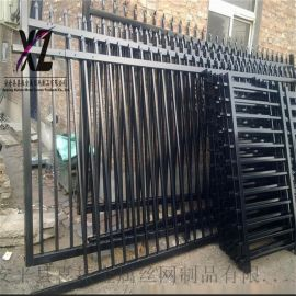 镀锌管围墙护栏、双横杆围墙栅栏、定制各种围墙栏杆
