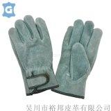短电焊手套牛皮劳保手套耐磨焊防护隔热