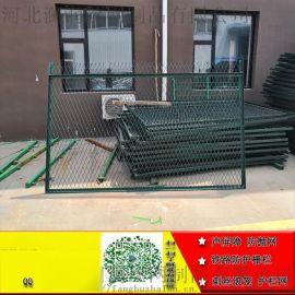 安平恺嵘供应钢立柱防护栅栏一套多少钱