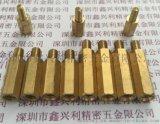 深圳 陰陽柱 主板機箱隔離柱 單頭六角銅螺柱