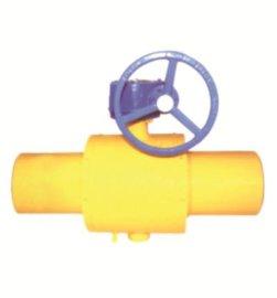 焊接式球阀与分段式球阀比有哪些优点?