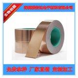 自粘双导铜箔胶带,10mm*50m*0.05mm,电磁屏蔽优良,导电性强!