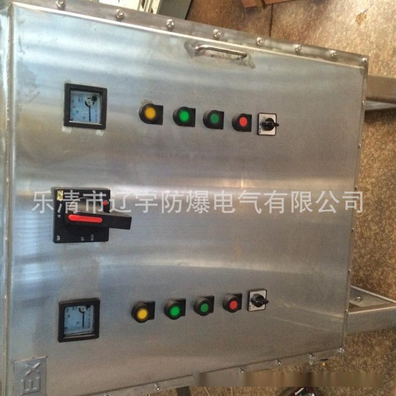 防爆不鏽鋼304配電箱304控制箱帶變頻器散熱功能