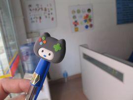 专业定制PVC笔套 PVC软胶卡通笔套厂家 PVC塑胶合模铅笔笔套