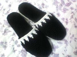 手工毛线拖鞋(ID-11)
