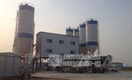 环保型HZS180混凝土搅拌站,符合环保要求