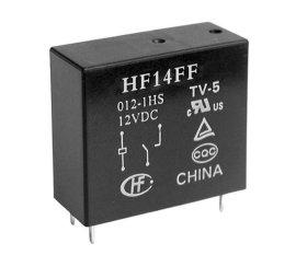 宏发(HF)继电器HF14FF/012,原装新货