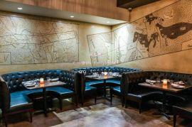 厂家批发定制西餐厅沙发,厂家直销实木软包沙发