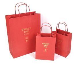 厂家定制**手提纸袋购物纸袋子服装礼品袋质量保证