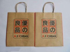 手提袋牛皮纸袋礼品袋服装包装袋购物礼物袋可定做