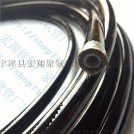 聚氨酯树脂软管工程机械喷涂机钢丝编织增强软管