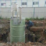 地埋式污水處理泵站的結構和原理 污水提升泵站