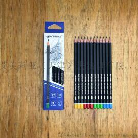 儿童练习写字铅笔HB书写铅笔木头铅笔厂家直销