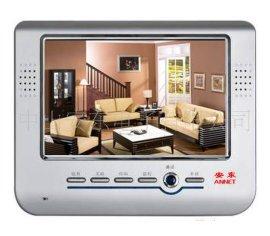7寸彩色电话门铃可视室内机,可视楼宇对讲系统,对讲门铃,对讲电话