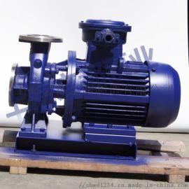 直销上海文都牌ISW100-100型卧式管道离心泵