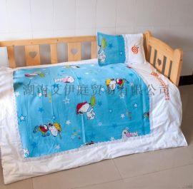 陕西幼儿园被子厂家全棉儿童被套床上用品定制哪家专业