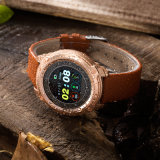 工廠新款觸摸圓盤運動手環 計步血壓心率