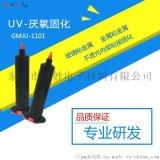 厂家供应透明环保耐高低温玻璃UV厌氧胶高妙信得过