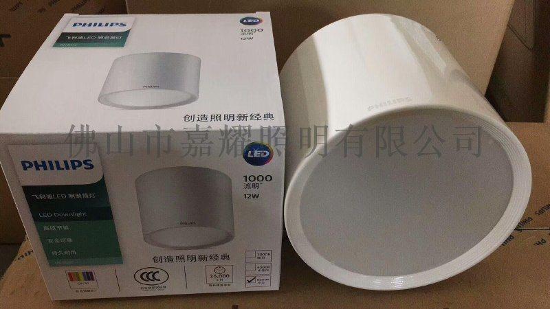 飞利浦DN003C 7寸12W明装LED筒灯