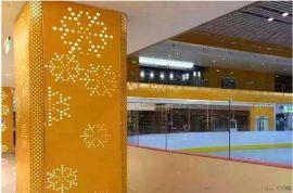 反光包柱铝单板 雕花镂空包柱铝单板