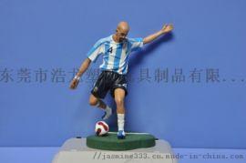 PVC塑膠足球公仔 東莞足球公仔 塑膠玩具足球公仔