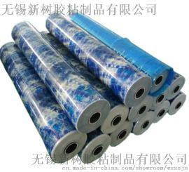 黑白乳白蓝色pe彩钢瓦保护膜