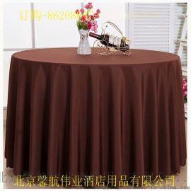 平纹缎面台布桌布加工定做厂家直销