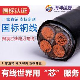 河南海洋线缆 国标 YJV YJV22 电力电缆