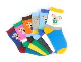 新秋冬款儿童袜 高棉质多款多色卡通可爱男女童袜子 全棉袜子