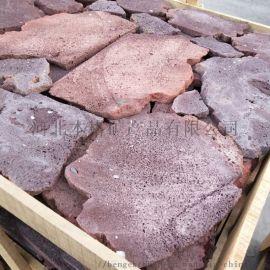 廠家直銷 火山石板巖 牆面裝飾用火山石板材 火山巖