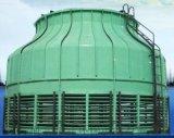 圆形逆流玻璃钢冷却水塔 环保型玻璃钢冷却水塔