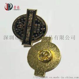 广州学院徽章制作,广州金属徽章厂,制作印刷滴胶胸章