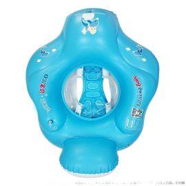 自游宝贝婴儿游泳圈 充气防翻座圈 儿童游泳用品