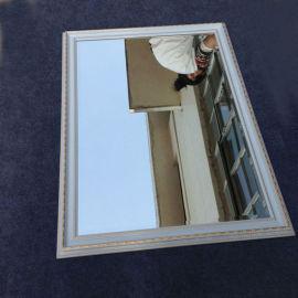 定制北欧风格镜 长方欧式镜子香槟色镜子