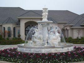 兰亭园林之音乐喷泉