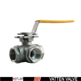 德国VATTENQ41F-16P 球阀中德合资上海工厂   手动螺纹球阀 手动三通球阀