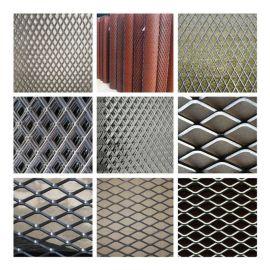 金属冲压防滑钢板网 厂价批发郑州重型钢板网片 护栏网菱形钢板网