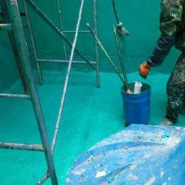 华创25kg桶装玻璃鳞片胶泥 玻璃鳞片防腐涂料 防腐漆厂家批发