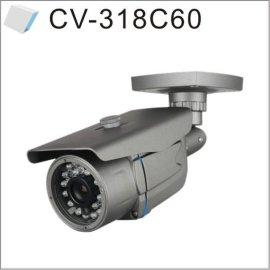 韩国1/4CMOS彩色红外夜视摄像机室外防水(CV-318C60)